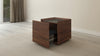 "25"" Contemporary Walnut End Table FT24ETCF"