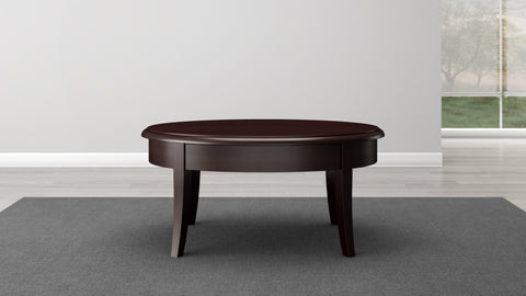 Brazilian Cherry Coffee Table in a Wenge Finish