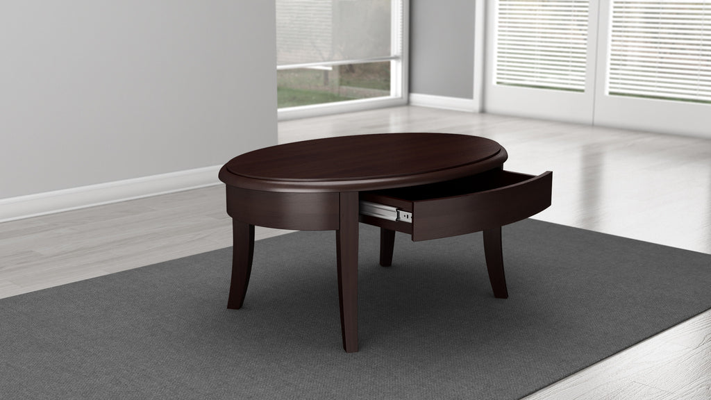 ... Brazilian Cherry Coffee Table In A Wenge Finish