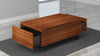 "48"" Mid-Century Modern Coffee Table in Iron Wood; FT48PF"