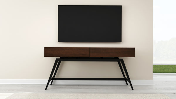 "63"" Mid-Century Modern Console in a Cognac Finish FT63MMCC"