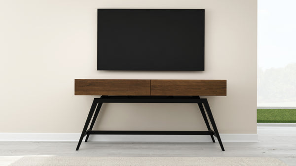 "63"" Mid-Century Modern Console in Walnut FT63MMCW"