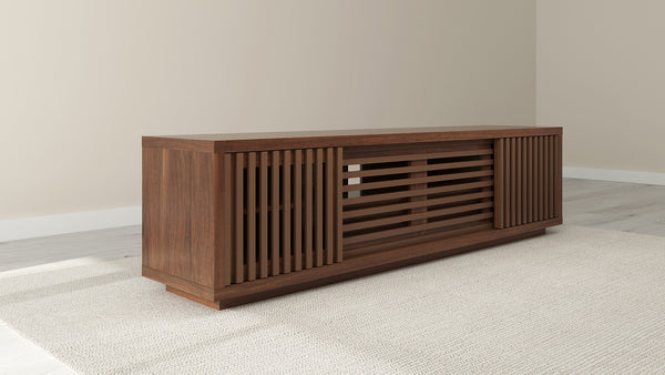 "82"" American Walnut  Media Console FT82WSW"