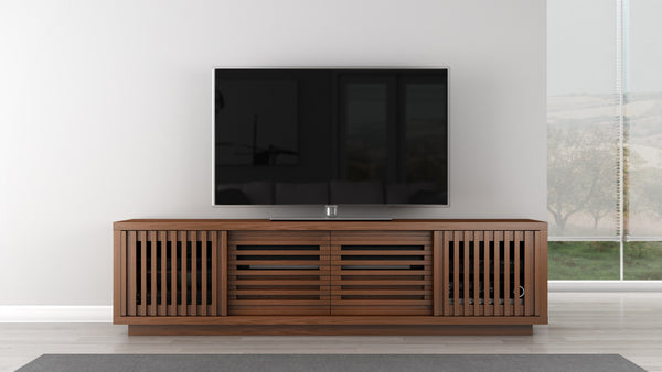 TV Stand of White Oak in a Warm Honey Finish
