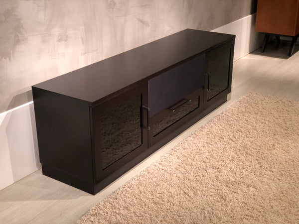 "70"" Contemporary Dark Brown (Wenge) Media Console FT72CCW"