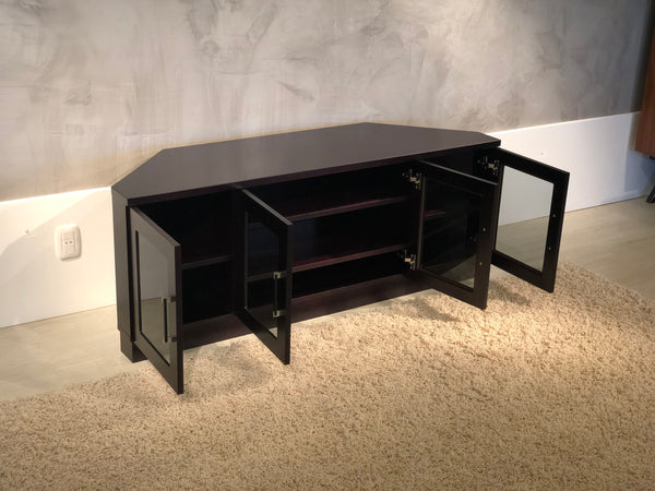 "60"" Wenge Corner Media Console FT60CCCW"