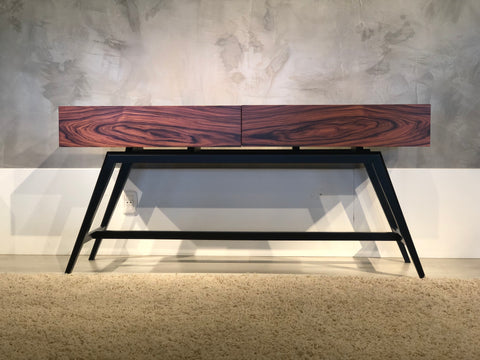 "63"" Mid-Century Modern Console in Iron Wood FT63MMPF"