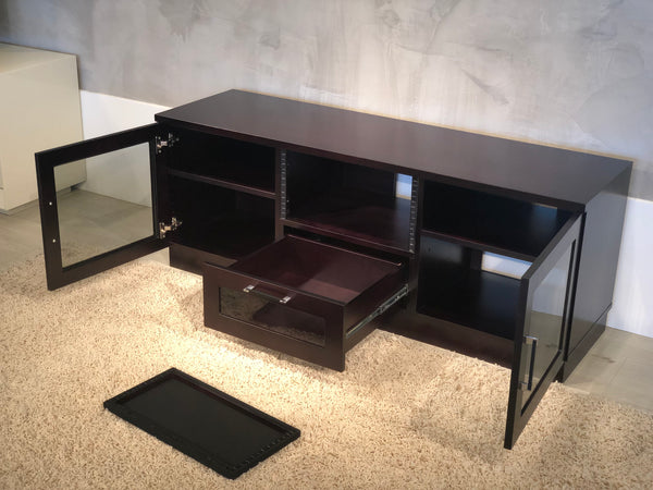 "60"" Dark Brown Media Console FT60CCW"