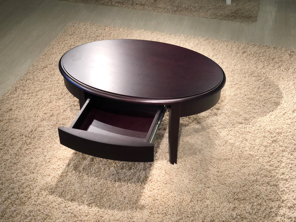 "38"" Wenge Cherry Wood Coffee Table FT40CK"