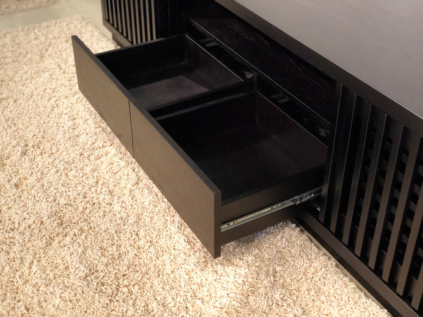 "82"" Ebony Oak Media Console FT82WSEB"