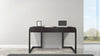 "56"" Graphite Italian Engineered Veneer Writing Desk FT56CGD"
