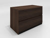 "36"" Mid-Century Modern 2 drawer lateral file in a cognac finish TANGO-36OFLF"
