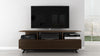 Modern TV Stand in a Cognac Finish
