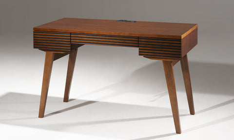 "48"" MID-CENTURY MODERN CHERRY WRITING DESK - TANGO-DK48CN"