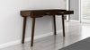 "54"" Mid-Century Modern sofa table in a cognac finish TANGO-DT"