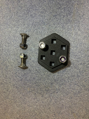 Adapt-a-panel 7 carriage bolt Grid Insert mount kit