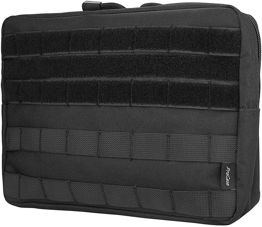 MOLLE Pouch Horizontal Multi-Purpose Utility Bag -Black