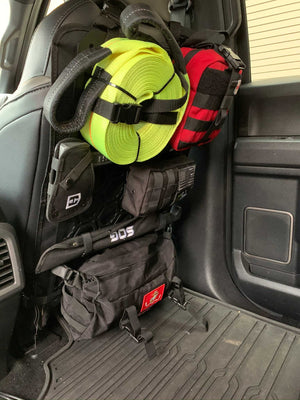 Off-Road Seat Back Panel Kit with Recovery Gear