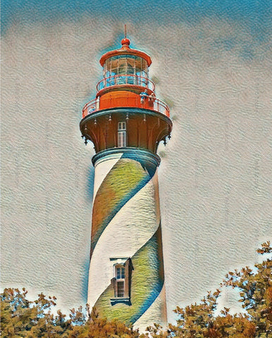 St. Augustine Lighthouse Sketch