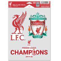 Liverpool FC Champions Decal 3-Pack - Anfield Shop
