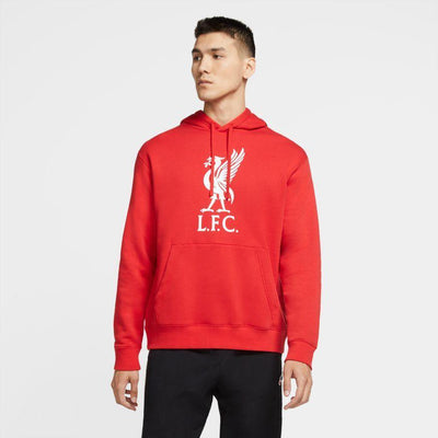 Liverpool FC Nike Men's Pullover Club Hoodie - Anfield Shop