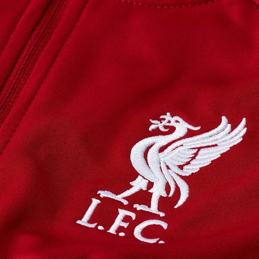 Liverpool FC Nike Kids Red Anthem Tracksuit Jacket