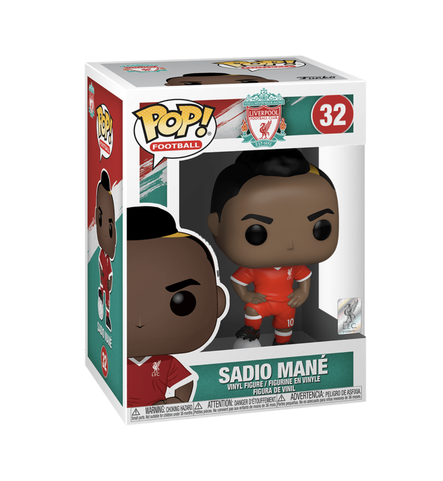 Football Pop! Vinyl Figure Liverpool FC 2020 Sadio Mane