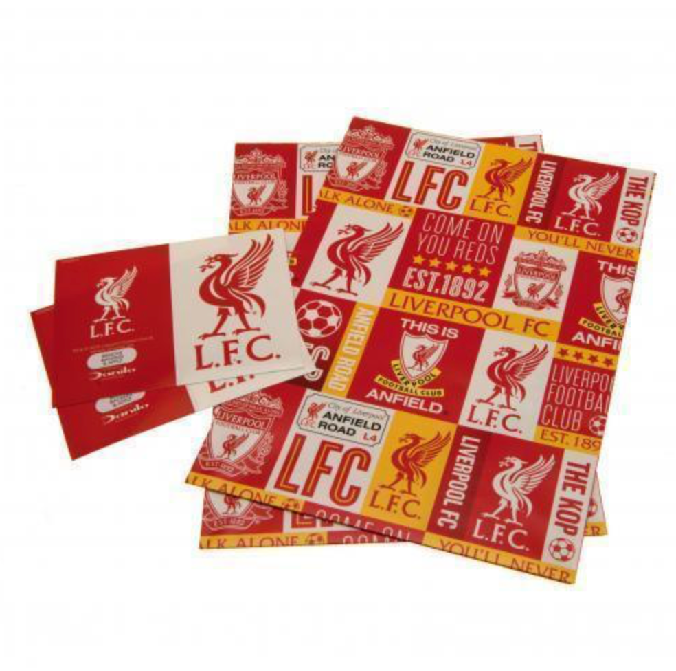 Liverpool FC Patch Gift Wrap