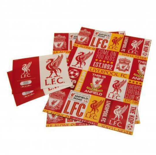 Liverpool FC Patch Gift Wrap - Anfield Shop