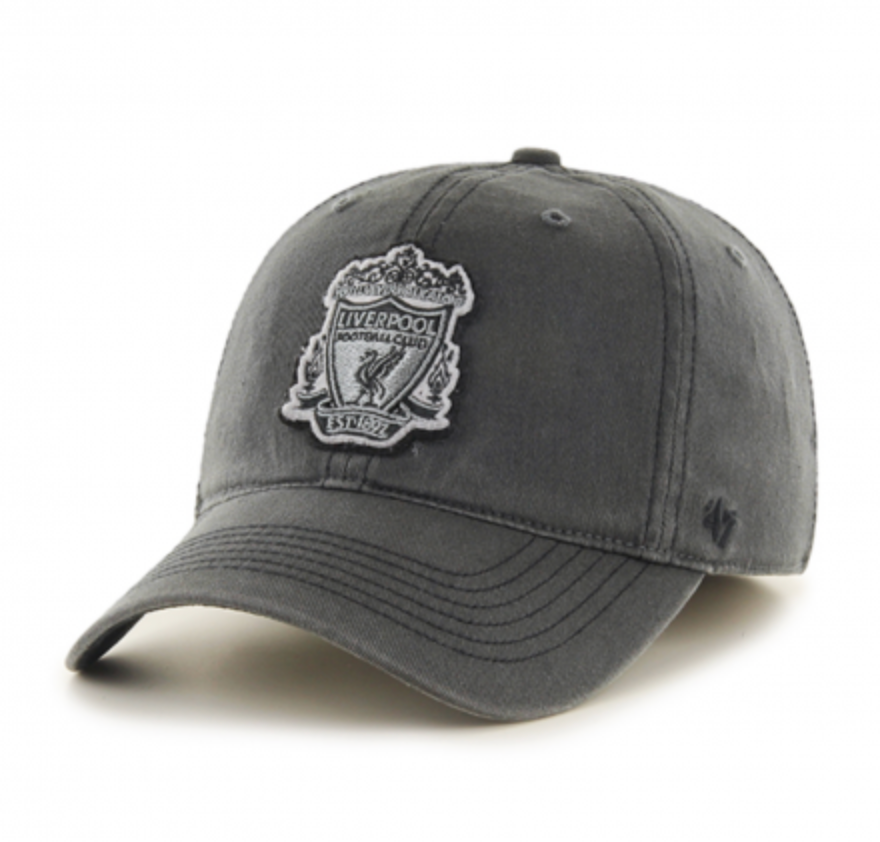 Liverpool FC '47 Black Dagger CLOSER Flexfit Cap