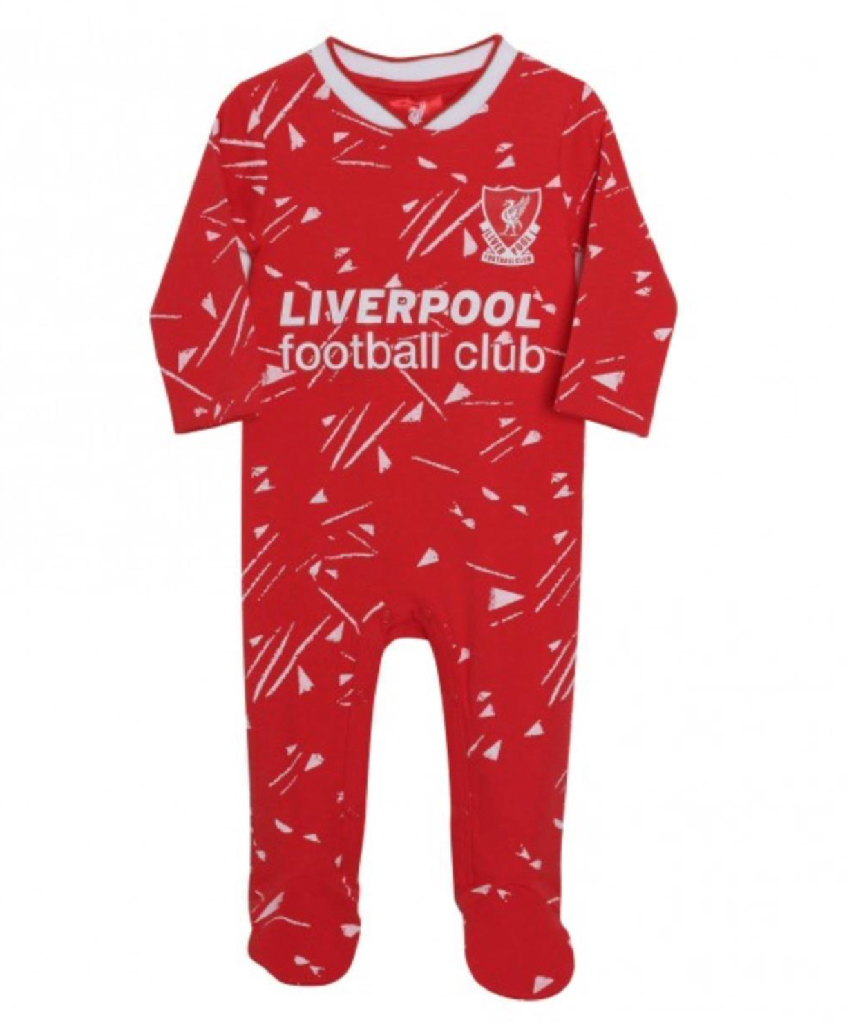 Liverpool FC Candy Home Baby Sleepsuit