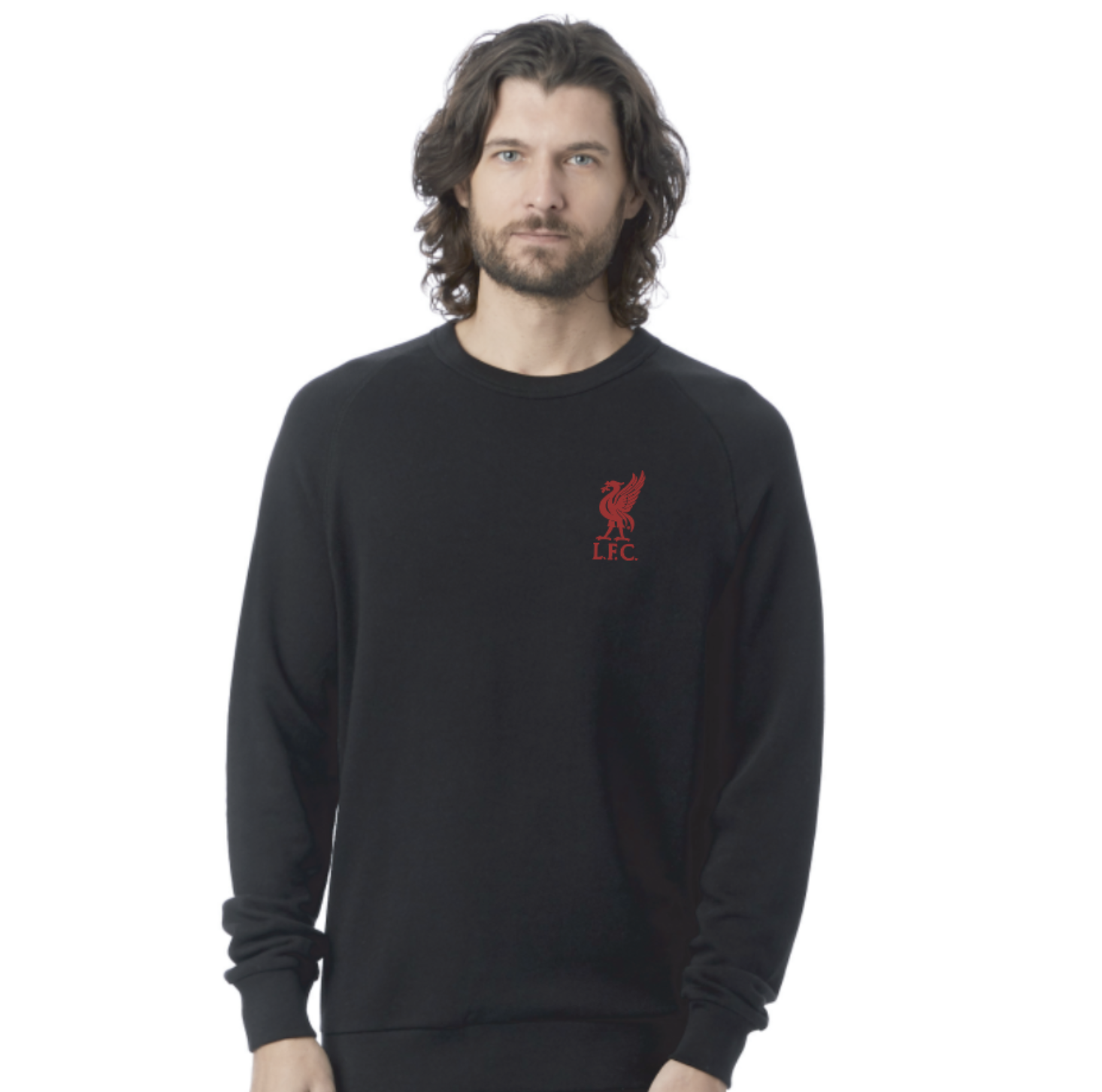 Liverpool FC Casuals Washed Terry Sweatshirt