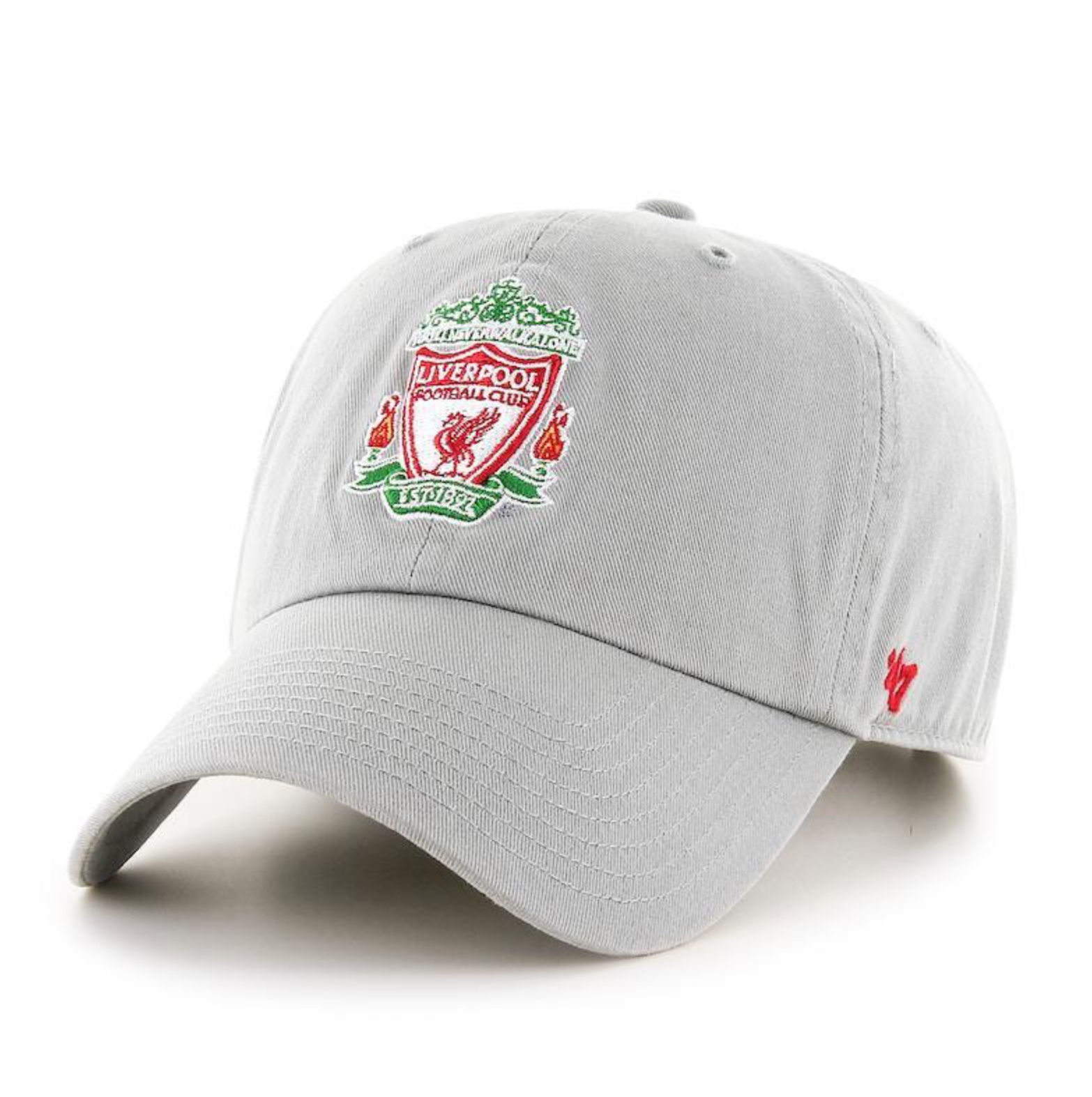 Liverpool FC '47 Gray Color Crest CLEAN UP Cap