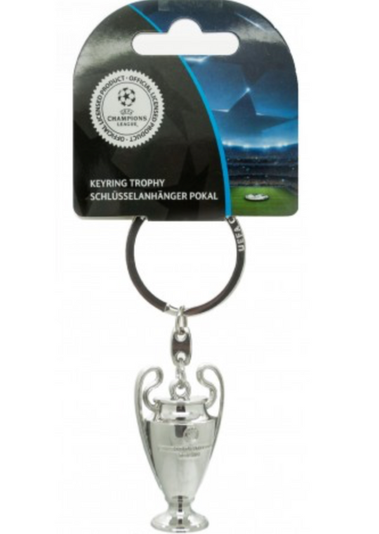 UCL 3D Trophy Keyring / Keychain - Anfield Shop