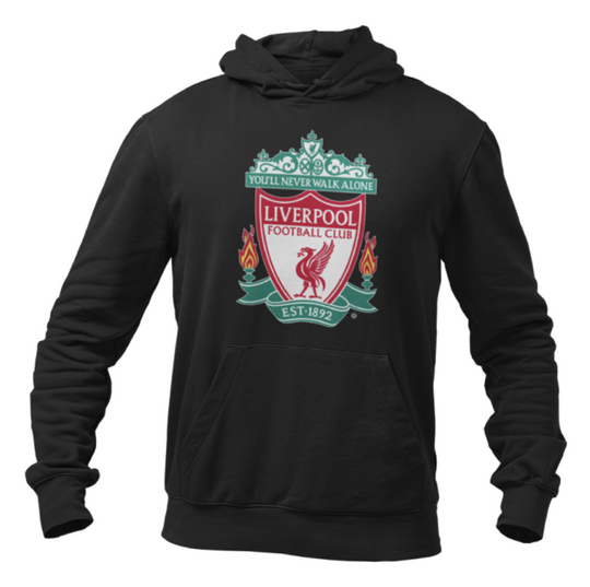 Liverpool FC Crest Hoodie - Anfield Shop