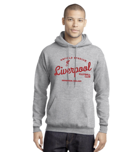 Liverpool FC Grey Roundabout Hoodie - Anfield Shop