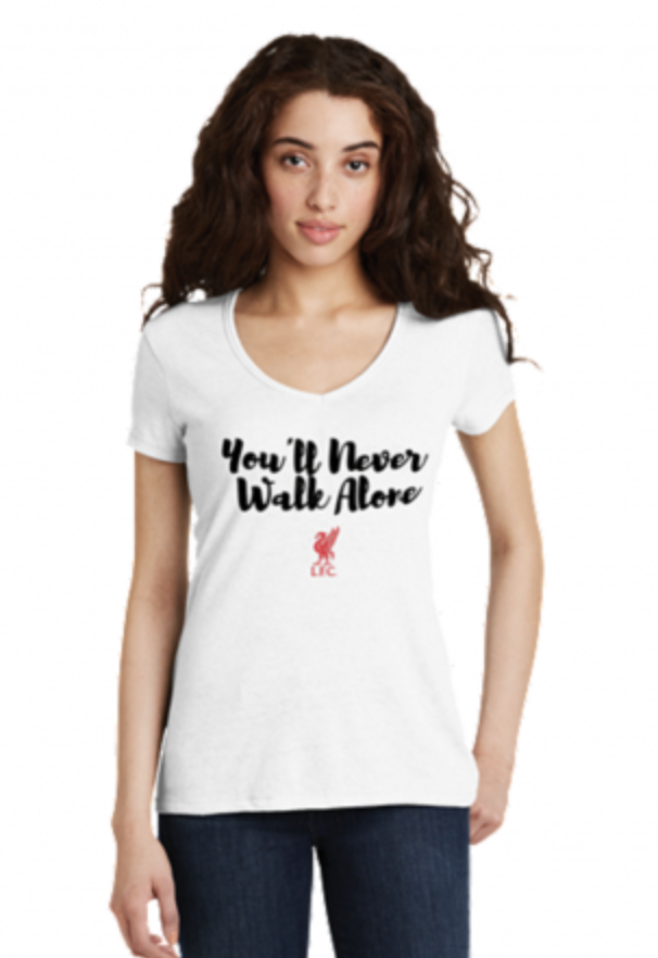 LFC Ladies Script V-Neck
