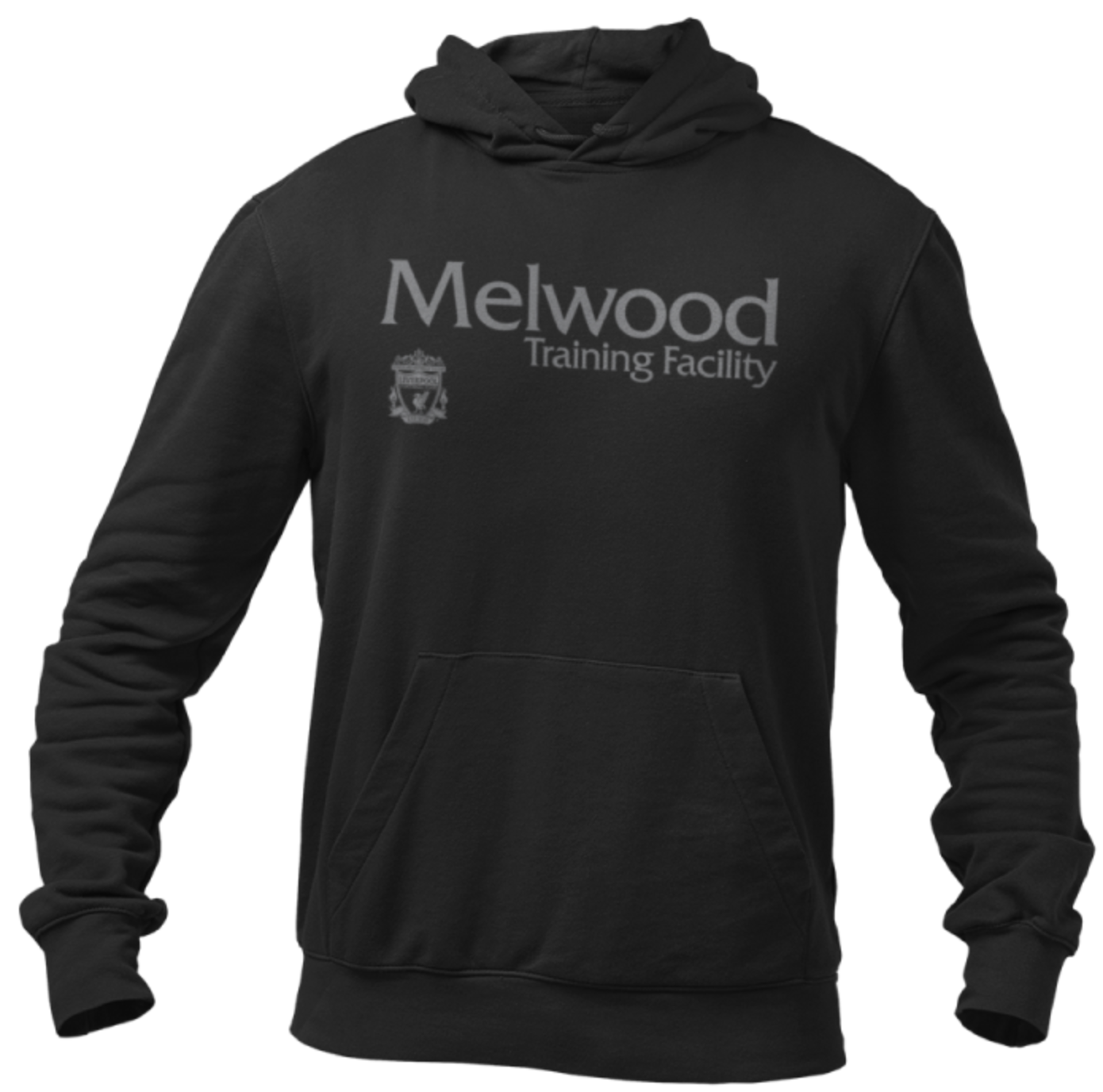 Liverpool FC Melwood Black Hooded Sweatshirt