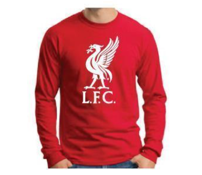 LFC Red Liverbird Long-Sleeve T-Shirt
