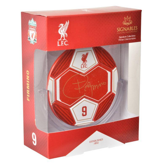 Liverpool FC Roberto Firmino Signables - Anfield Shop