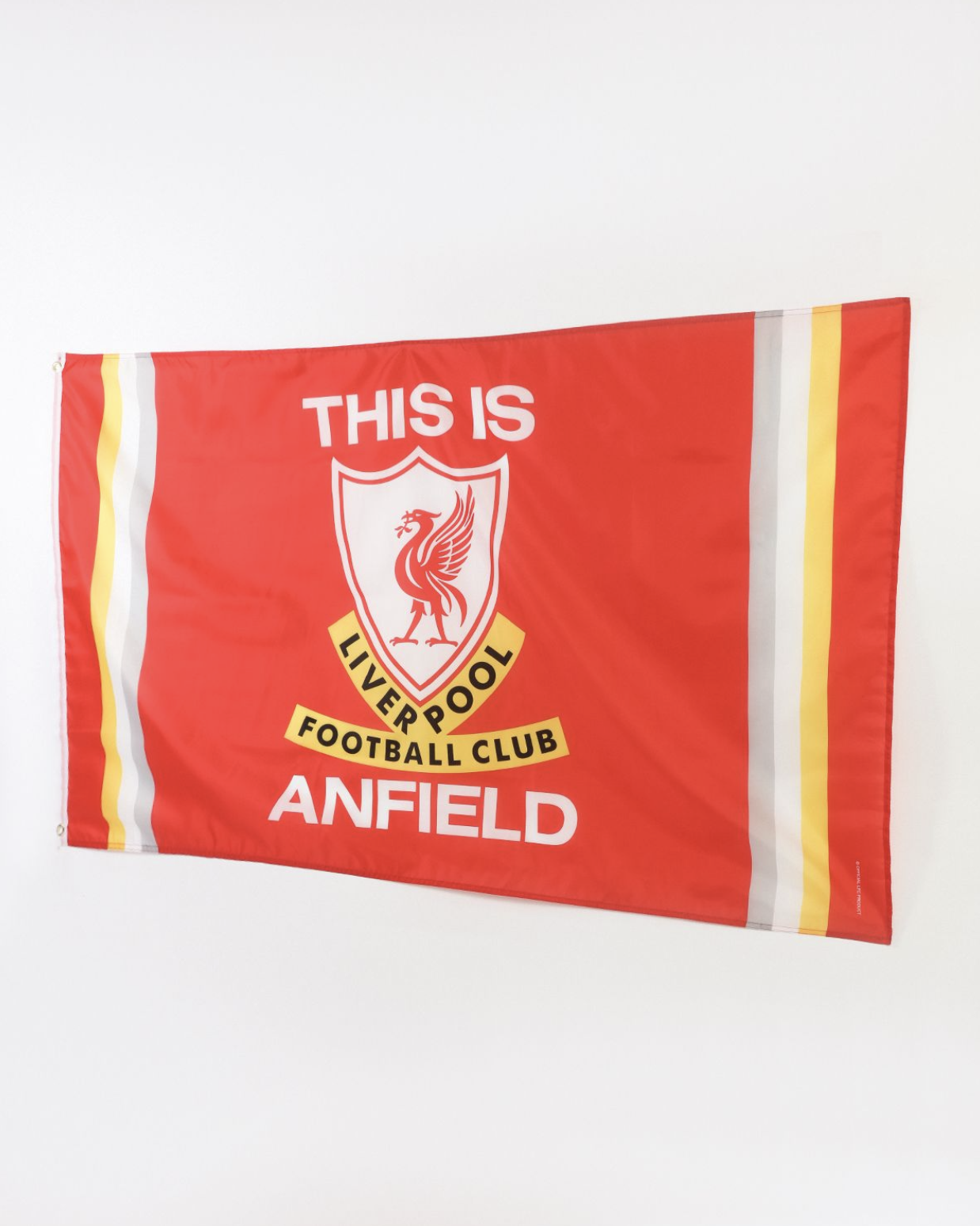Liverpool FC This is Anfield Flag - Anfield Shop