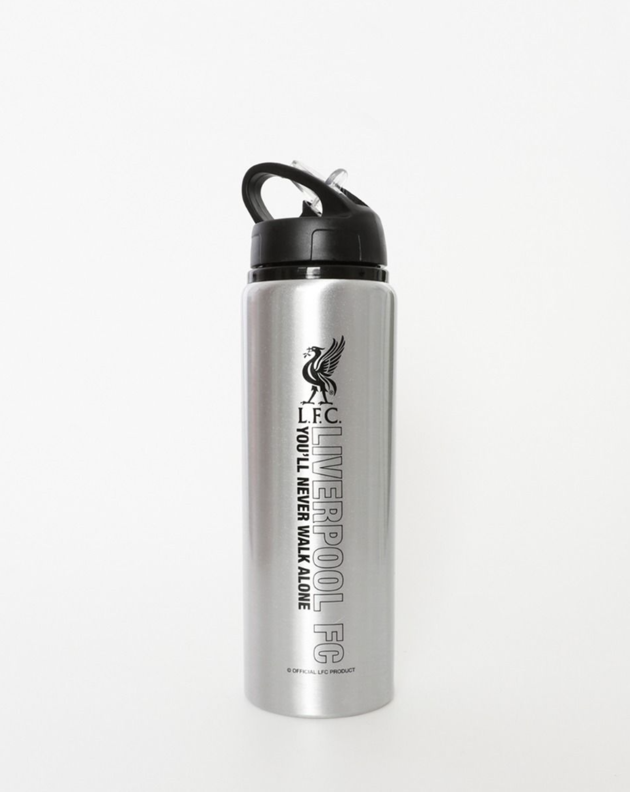 Liverpool FC Silver Water Bottle