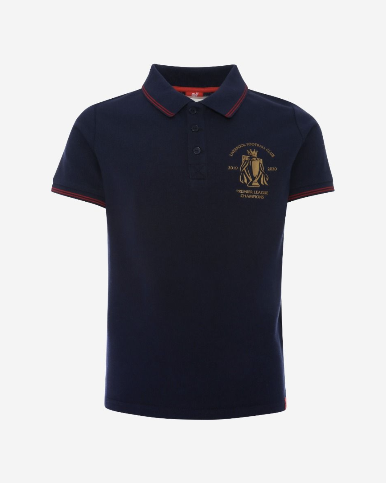 Liverpool FC Youth Premier League Champions 19/20 Navy Polo