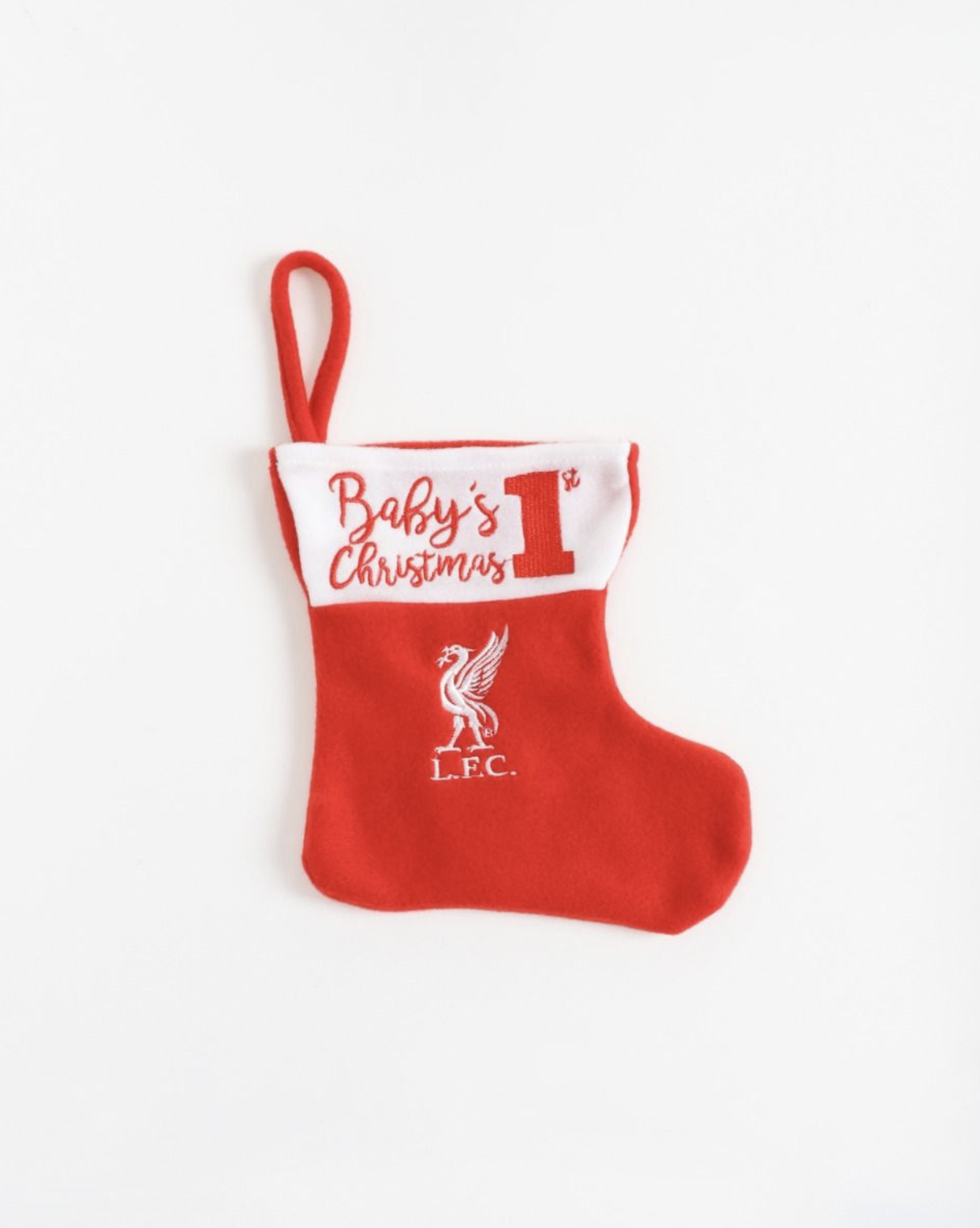 Liverpool FC Baby's First Christmas Stocking