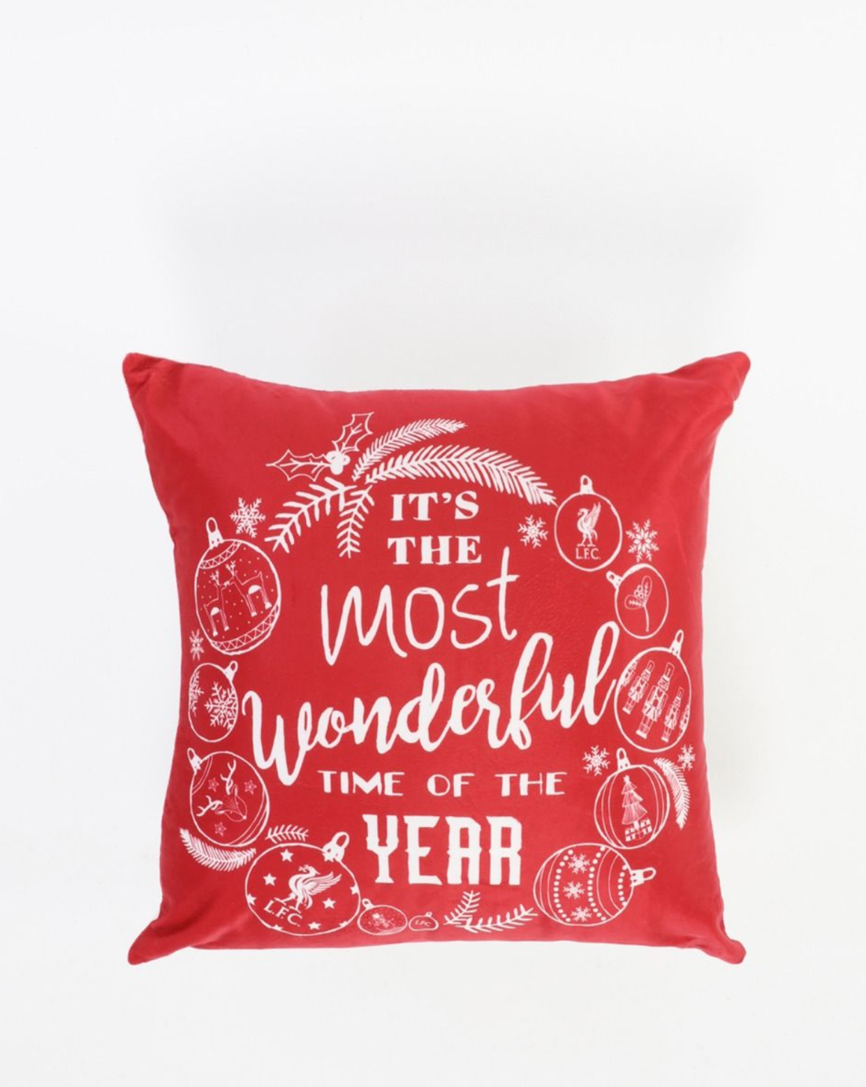 Liverpool FC Christmas Pillow Cushion Cover
