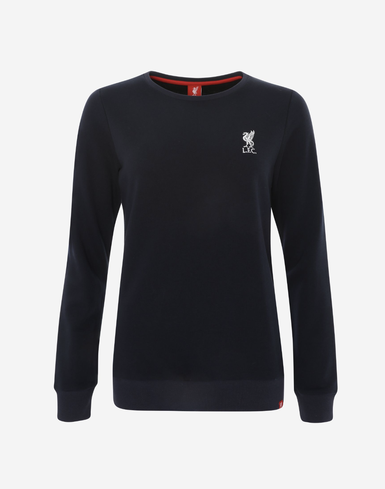 Liverpool FC Womens Navy Crew Neck Sweatshirt