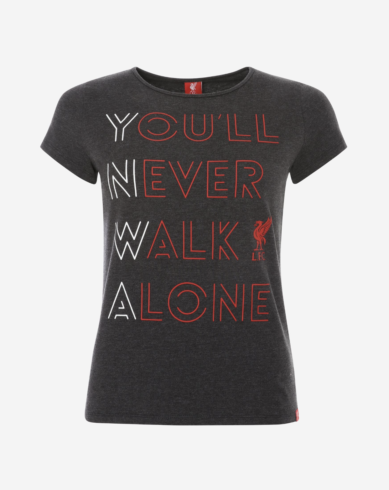 Liverpool FC Womens You'll Never Walk Alone Tee