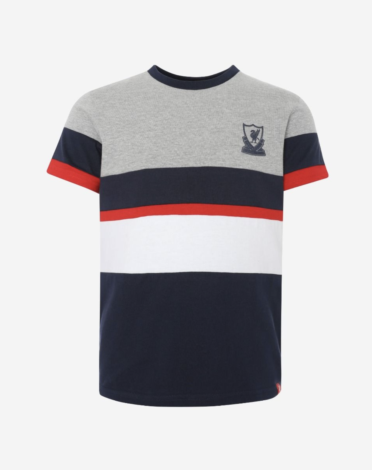 Liverpool FC YOUTH Navy Color Block Tee