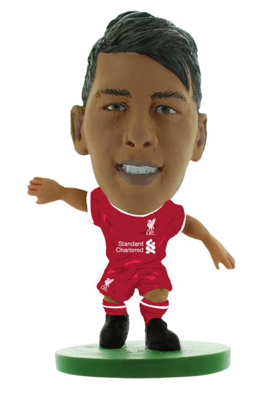 Liverpool FC SoccerStarz Roberto Firmino 2020-21 - Home Kit - Anfield Shop