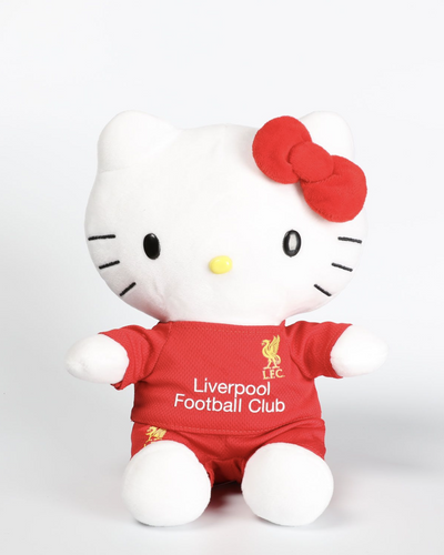 Liverpool FC Hello Kitty Plush - Anfield Shop